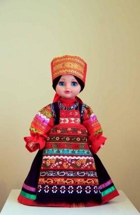 Алёнушка в костюме Московской губернии Верейский уезд